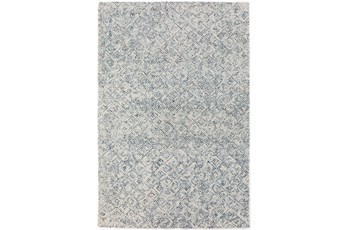 "3'5""x5'5"" Rug-Vedara Diamonds Navy"
