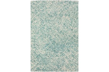 "5'x7'5"" Rug-Vedara Diamonds Teal"