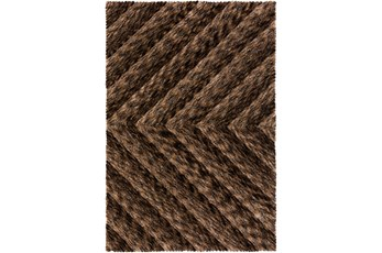 42X66 Rug-Karash Lines Chocolate