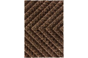 96X120 Rug-Karash Lines Chocolate