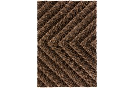 108X156 Rug-Karash Lines Chocolate