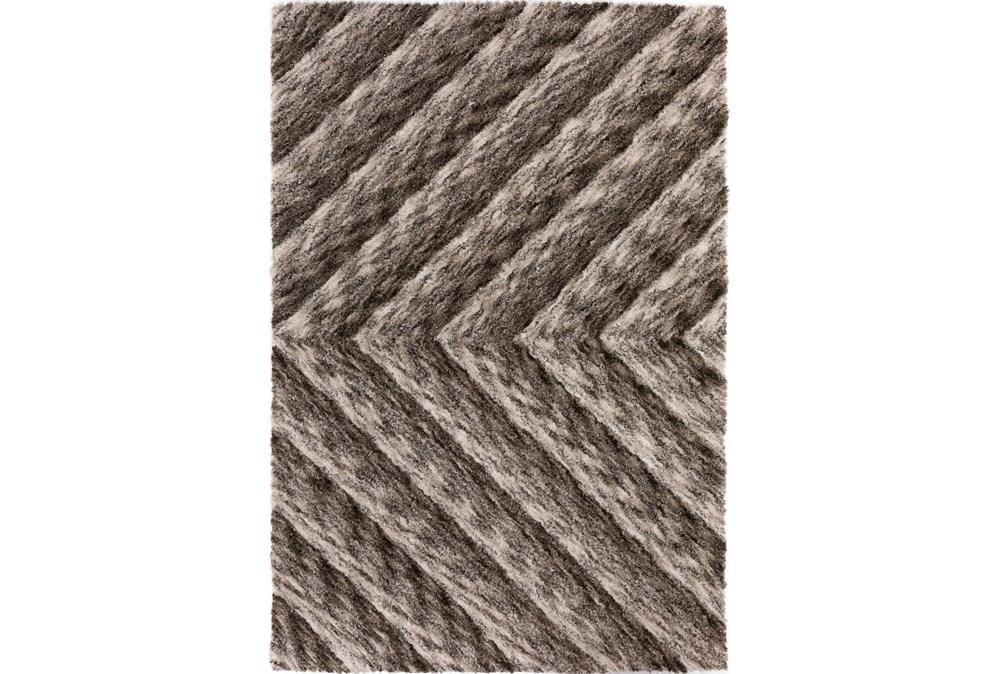 108X156 Rug-Karash Lines Taupe