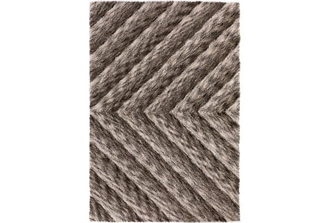 108X156 Rug-Karash Lines Taupe - 360