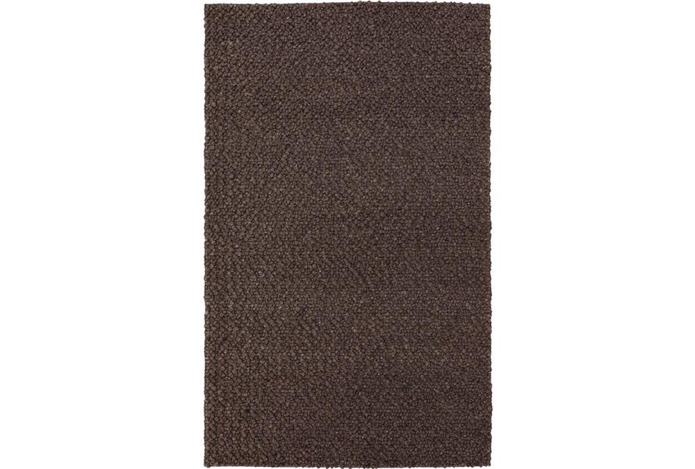 60X90 Rug-Kallan Textures Chocolate