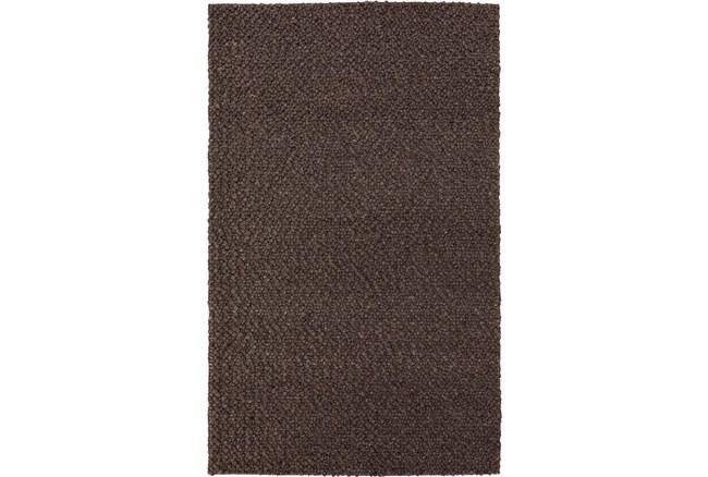 8'x10' Rug-Kallan Textures Chocolate - 360