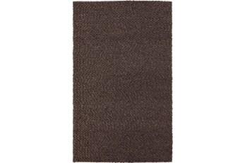 108X156 Rug-Kallan Textures Chocolate