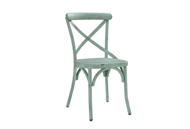 Mint Metal Dining Side Chair - 360