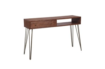 "One Drawer Accent Storage 48"" Console Table"