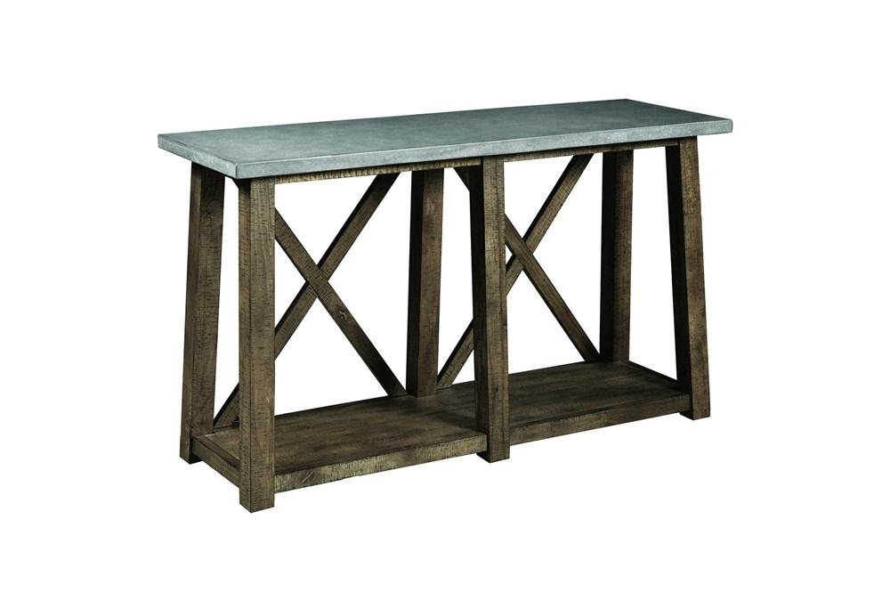 """Concrete Top 50"""" Console Table"""