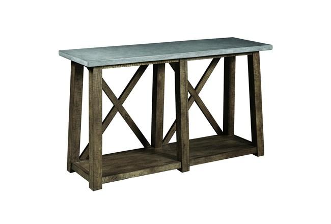 """Concrete Top 50"""" Console Table - 360"""