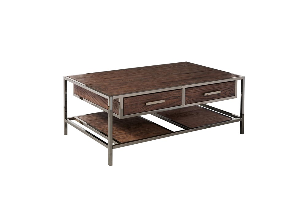 Modern Industrial Cocktail Table