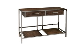 "Modern Industrial 42"" Console Table"