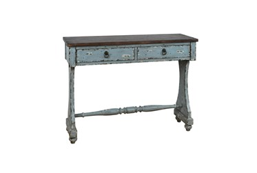 """Two Tone Entryway 48"""" Console Table"""