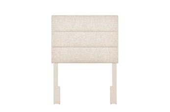 Doe Twin Channel Upholstered Headboard