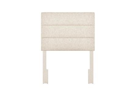 Doe Twin Channel Upholstered Headboard - Main