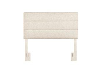 Full/Queen Doe Horizontal Channel Upholstered Headboard