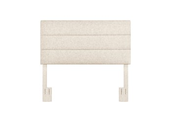 Doe King/Cal King Channel Upholstered Headboard