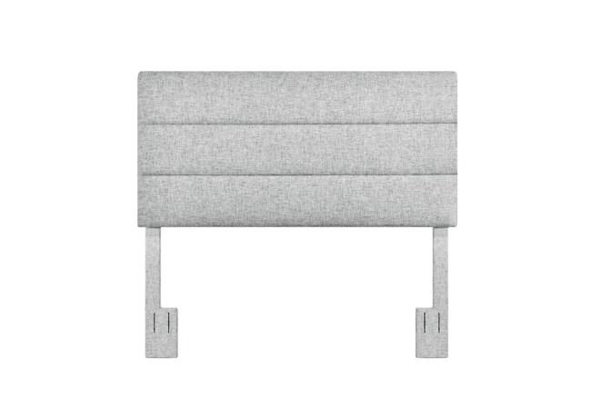 Eastern King/Cal King Platinum Horizontal Channel Upholstered Headboard - 360