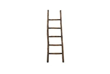 Brown Wood Blanket Ladder