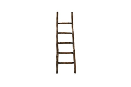 Brown Wood Blanket Ladder - Main