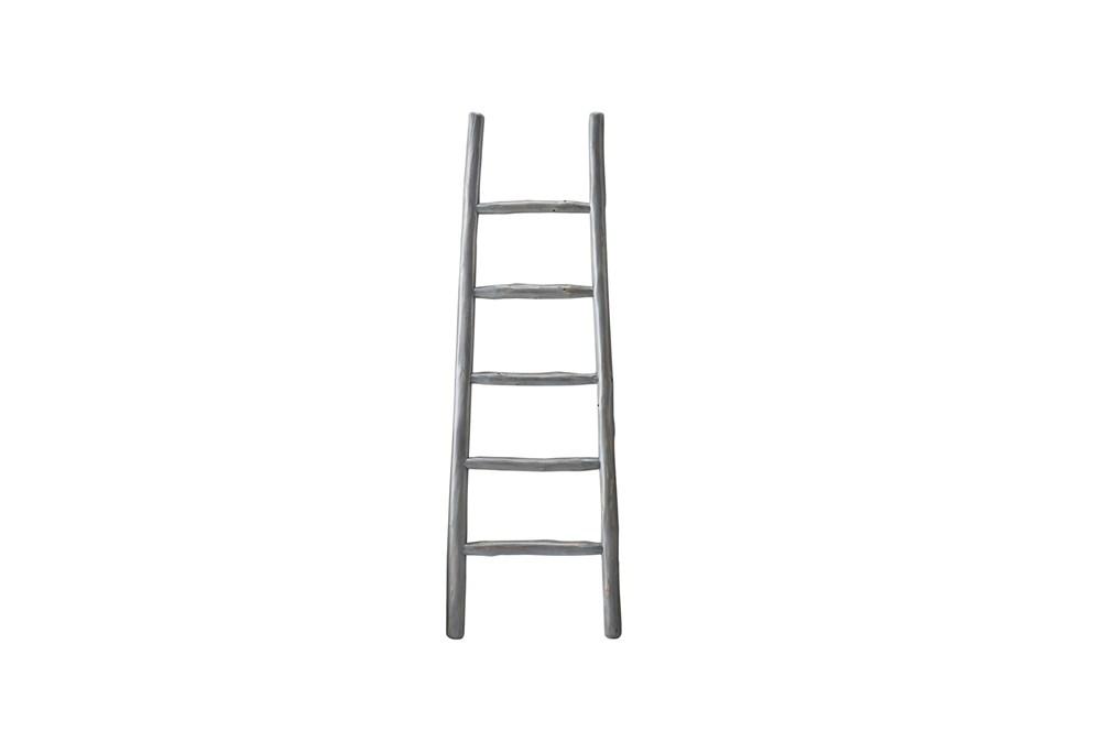 Grey Wash Blanket Ladder