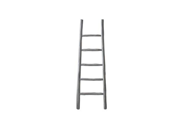 Grey Wash Blanket Ladder  - 360