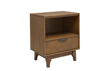 Mid Century 1 Drawer Chairside Table