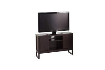 Chocolate 50 Inch 2 Door Tv Stand