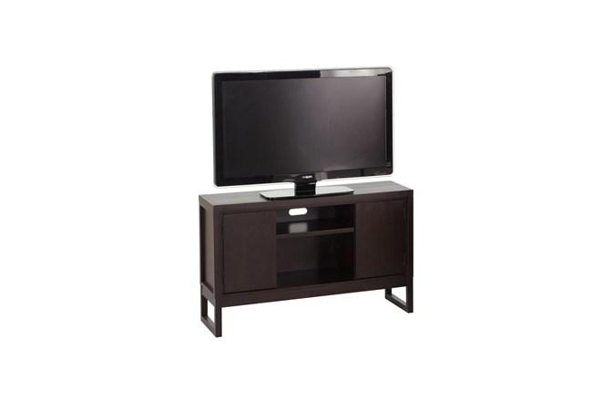 Chocolate 50 Inch 2 Door Tv Stand  - 360