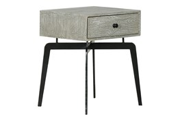 Iron Leg Side Table