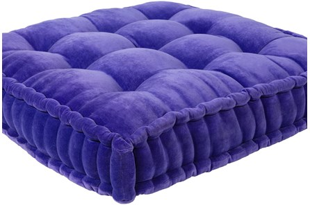 Accent Pillow-Violet Velvet 24X24 - Main