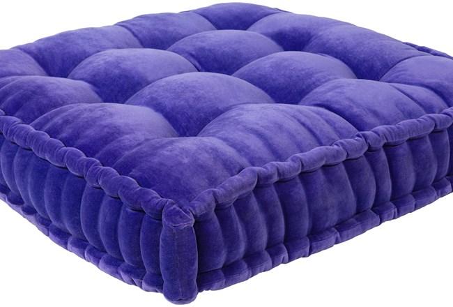 Accent Pillow-Violet Velvet 24X24 - 360