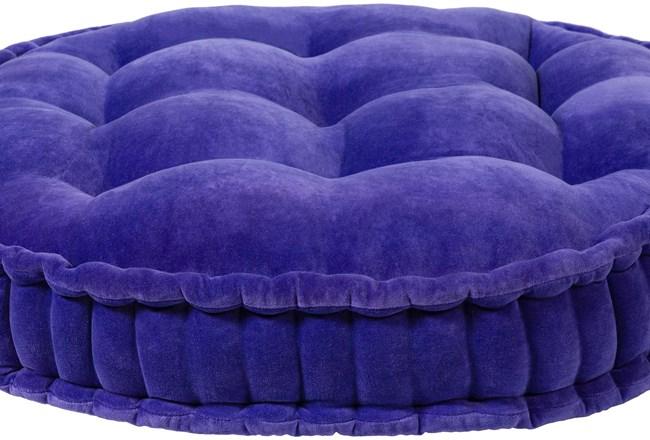 Accent Pillow-Violet Velvet 30X30 - 360