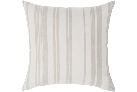 Accent Pillow-Ivory Stripe 20X20 - Main