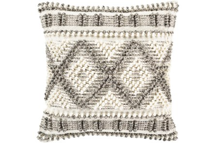 Accent Pillow-Beige Diamonds 18X18 - Main