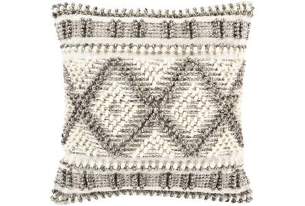 Accent Pillow-Beige Diamonds 18X18 - Main