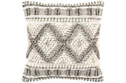 Accent Pillow-Beige Diamonds 22X22