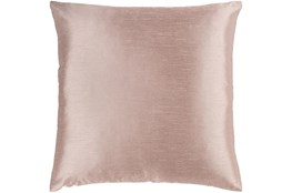 Accent Pillow-Solid Blush 18X18