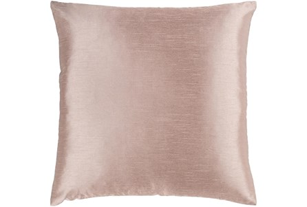 Accent Pillow-Solid Blush 22X22 - Main