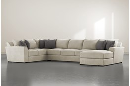 Delano Thrillist 3 Piece Sectional With Right Arm Facing Chaise