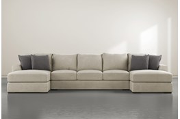 Delano Thrillist 3 Piece Sectional With Double Chaise