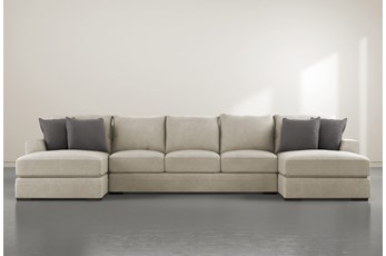 "Delano Thrillist 3 Piece 169"" Sectional With Double Chaise"
