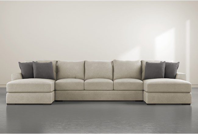 "Delano Thrillist 3 Piece 169"" Sectional With Double Chaise - 360"
