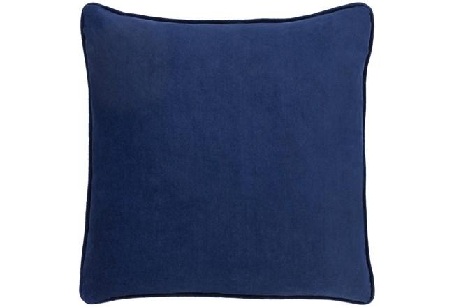 Accent Pillow-Navy Velvet 20X20 - 360