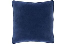 Accent Pillow-Navy Velvet 22X22