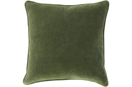Accent Pillow-Grass Green Velvet 18X18
