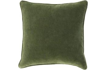 Accent Pillow-Grass Green Velvet 18X18