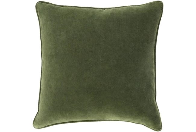 Accent Pillow-Grass Green Velvet 18X18 - 360