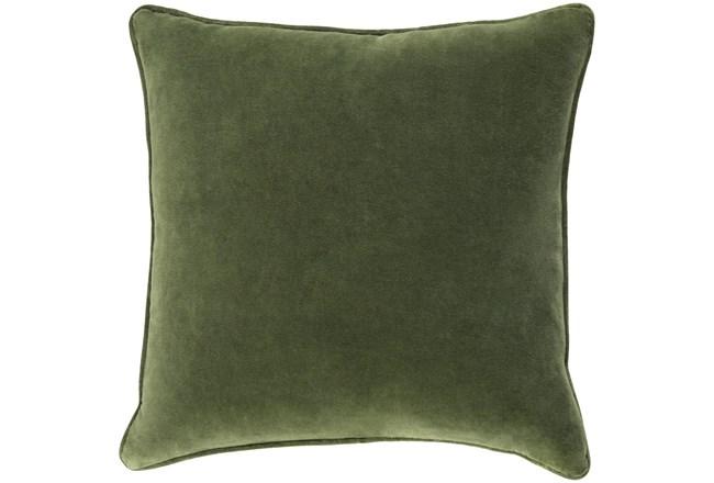 Accent Pillow-Grass Green Velvet 22X22 - 360