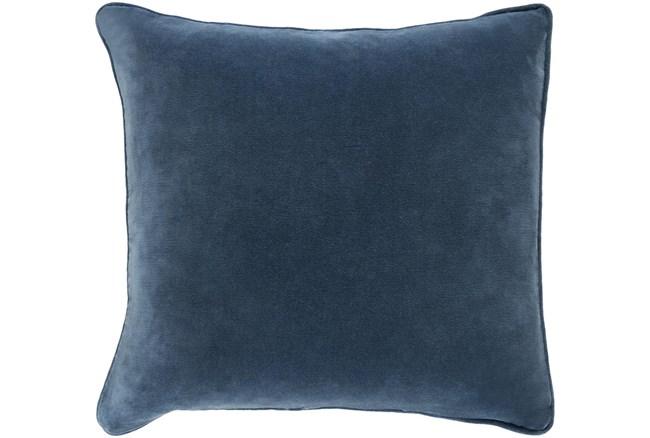 Accent Pillow-Navy Velvet 18X18  - 360